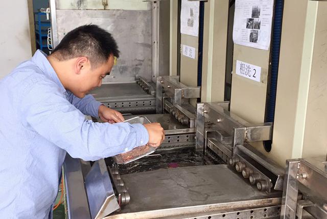 应用环保碳氢清洗剂进行镍白铜清洗案例
