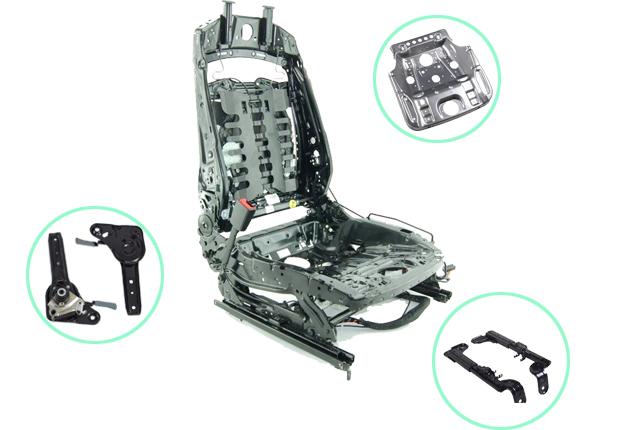汽车座椅冲压件清洗案例