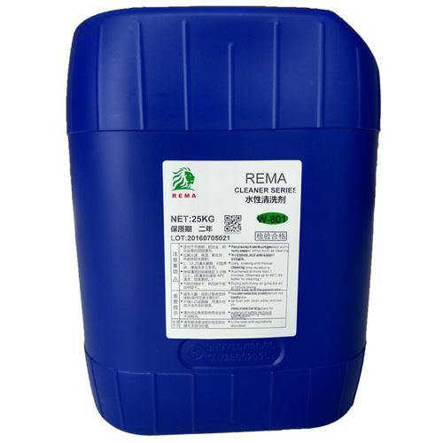 诺而曼(REMA) 水性清洗剂W-801
